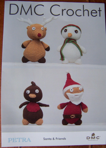 DMC Santa and Friends Crochet Pattern , 15616L/2